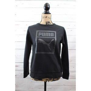 Puma Black Sweatshirt XS